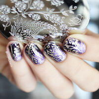 BORN PRETTY Nail Art Stamping Image Plate Template DIY Arabesque Honeybee BP-100