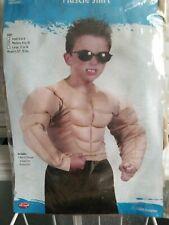 MUSCLE SHIRT COSTUME FUN WORLD CHILD 50% OFF FINAL SALE !!