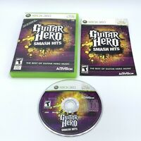 Guitar Hero: Smash Hits (Microsoft Xbox 360, 2009) Complete With Manual CIB