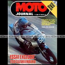 MOTO JOURNAL N°288 BRANDS HATCH MICK GRANT BMW R 100 RS SUZUKI 250 PE 1976