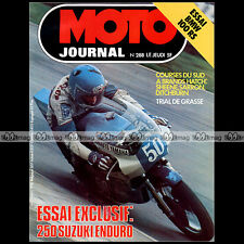 MOTO JOURNAL N°288 BMW R 100 RS SUZUKI 250 PE HONDA CJ 360 T BARRY SHEENE 1976