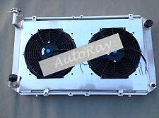 Aluminum Radiator+Shroud for Nissan Patrol 2.8&4.2 Diesel TD42 /  3L Petrol Y60