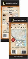 Military History Map Pack - Battles of the Revolutionary & Civil Wars