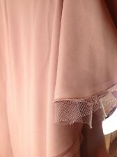 Vestido de BCBG Maxazria Sombra Rubor UK 10