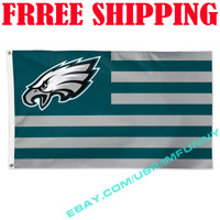 Deluxe Philadelphia Eagles USA Stars Stripes Flag Banner 3x5ft NFL 2019 Fan Gift