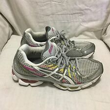 WOMEN'S ASICS GEL-NIMBUS 13 RUNNING SHOES - MULTI COLOR ( SIZE 9.5 )