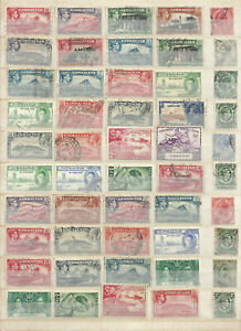 GIBRALTAR used stamps KINGS GV & VI used selection - not checked - POST FREE