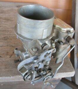 Nice Original 1956 56 Ford Carter  3358S Carburetor 272 292? Fairlaine Galaxie