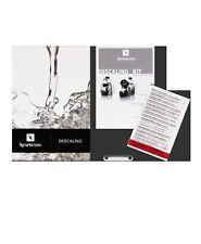 NESPRESSO De'Longhi descaling kit- Espresso coffee machine cleaning kit