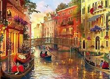 Puzzle 1000 Teile - Gondeln in Venedig Erwachsenenpuzzle Puzzles 70x50cm Huadada