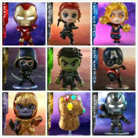 Hot Toys Avengers: Endgame Captain Marvel/Hulk/Iron Man Cosbaby Bobble-Head Toys