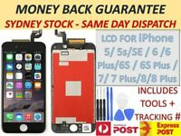 For iPhone 6 7 6s Plus 8 LCD Screen Touch Digitizer Full Assembly replacement