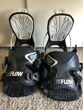 Flow Haylo Snowboard Bindings, Youth Large, Women's Small. (U.S. Unisex 4-7)