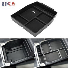 For Ford F-150 F150 2015-2017 Interior Armrest Storage Box Center Console Tray