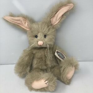 Ganz Cottage Collectibles 1996 Mary Holstad Brown Bunny Rabbit Parsley Vintage
