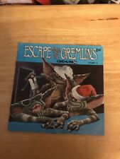 ESCAPE FROM THE GREMLINS GIZMO GREMLIN MOGWAI READ ALONG BOOK RECORD SET STORY 3