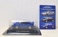 1/64 Kyosho 2006 SUBARU IMPREZA WRX STI S204 BLUE diecast car model