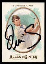 Ollie Schniederjans #127 signed autograph auto 2017 Topps Allen & Ginter's Card