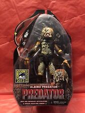 SDCC 2013 Comic Con Exclusive NECA ALBINO PREDATOR Action Figure New/Sealed