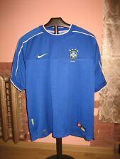 BRASIL Football National Team Nike Away 1997/98 Jersey/Shirt size L