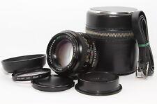 PENTAX K Auto REVUENON 50mm 1.4 Obiettivo Reflex PK Tappi, Paraluce, Filtro Sky