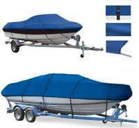 BLUE BOAT COVER FITS BOSTON WHALER OUTRAGE 17 II 1996 1997 1998