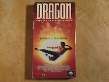 DRAGON THE BRUCE LEE STORY JASON SCOTT LEE VHS 1ST EDITION RELEASE 1993 MCA