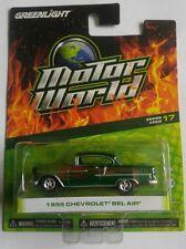Greenlight Motor World Green Machine * 1955 Chevrolet Bel Air * series 17 !