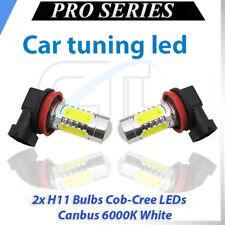 COUPLE H11 LED CREE COB FOG LIGHT WHITE XENON 6000K CANBUS AUDI A5 2007-2011
