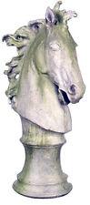 "Large Horse Head Statue Sculpture 39"""