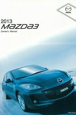 2013 Mazda 3 Owner Manual User Guide Reference Operator Book Fuses Fluids