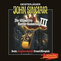 "Preisalarm! JOHN SINCLAIR ""ULTIMATIVE HORRORSAMMLUNG III * 6 Hörspiel CD NEU/OVP"
