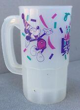 Vintage Disneyland 35 Years Of Magic 1990 Souvenir Plastic Mug Mickey Mouse