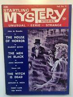 STARTLING MYSTERY STORIES-FALL-#2-1966-BRUNNER-HOCH-QUINN VINTAGE