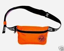 1 Victoria's Secret Pink Orange Fanny Pack Waist Purse Pouch Bag Sport Case Run
