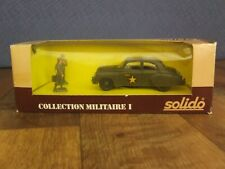Solido Collection Militaire I # 6033 Chevrolet U.S.A Military Car