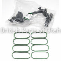 Land Range Rover Sport LR4 Water Pump Outlet Thermostat Crossover Tube & GASKETs