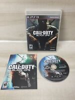 Call of Duty: Black Ops Sony PlayStation 3 PS3 Game Complete With Manual Tested