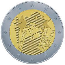 2 EURO Slovenia 2014 - 600º anniversario incoronazione Barbara di Cilli