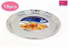 18pcs Aluminium Foil Dish Pan Pizza BBQ Pie 308mm dia. Bulk Lots ST308x6 YW