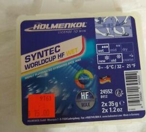 Holmenkol Syntech HF WC Wet Wax - 70g
