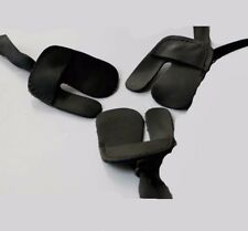 3Pcs Cow Leather Archery Finger Tab for Hunting Bow Archery Finger Protector Tab