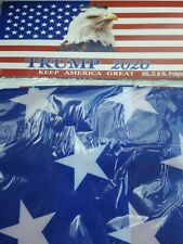 Trump 2020 American Flag Eagle Keep America Great 3x5 Flag w/ Grommets New