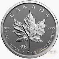 PANDA PRIVY II 2017 1 oz Pure Silver Maple Leaf Reverse Proof Coin in CAPSULE