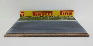 Diorama Track Scale 1:43 For Model Car Diecast Formula 1 Alfa Romeo Static