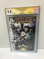 Guardians of the Galaxy #1 CGC 9.8 SS Signed by Donny Cates Premiere Var 2019