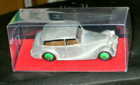 ORIGINAL DINKY MECCANO 1948/60 TRIUMPH 1800 No.40B  MODEL KIT+DISPLAY BOX