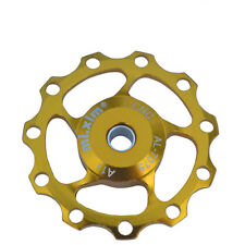 11T Jockey Wheel CNC Bike Derailleur Solid Pulley for Shimano Sram Gold 1pcs