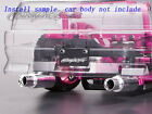 1/10 RC On Road Racing Drift Car Exhaust Pipe Plate Dummy Accessory Kit H407S
