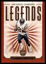 2020 Legacy Legends Red #123 LaDainian Tomlinson /299 - San Diego Chargers